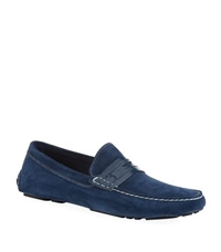 Billionaire Suede Driving Shoe