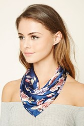 Forever 21 Floral Square Scarf