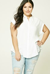 Forever 21 Plus Size High Low Shirt