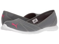 Puma Vega Ballet Flume Quiet Shade Sparkling Cosmo Women's Shoes Gray