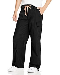 Marc Jacobs Ripstop Relaxed Fit Cargo Pants Jet Black