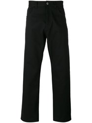 Raf Simons Low Crotch Jeans Black