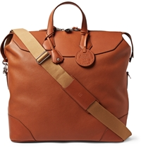 Dunhill Harrington Large Leather Tote Brown