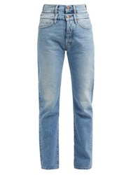 Aries Lily Double Waistband Jeans Denim