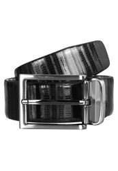 Karl Lagerfeld Belt Black Navy Dark Blue