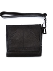 Julius Foldover Top Clutch Black
