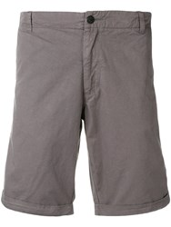 Woolrich Straight Fit Chino Shorts Grey