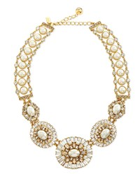 Pearly Bead Statement Necklace Kate Spade New York White