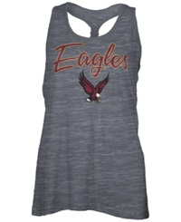 Royce Apparel Inc Women's Boston College Eagles Racerback Tank Charcoal
