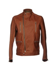 Vintage De Luxe Jackets Brown
