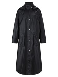 Four Seasons Waxed Coat Midnight