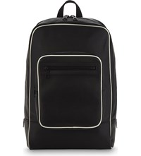 Neil Barrett Bonded Leather Backpack Blk White