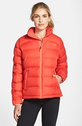 The North Face Women's 'Nuptse 2' Packable Down Jacket Melon Red