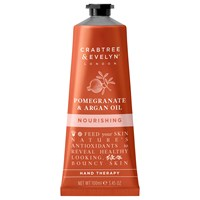 Crabtree And Evelyn Pomegranate Argan Oil Nourishing Hand Therapy 100Ml