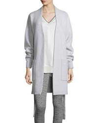 Rag And Bone Sienna Sweater Coat Light Gray Light Grey