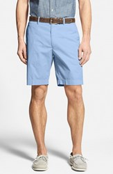Men's Big And Tall Bobby Jones Stretch Cotton Flat Front Shorts Light Blue