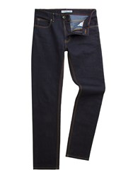 Racing Green Marr Slim Fit Indigo Rinsewash Jean Blue