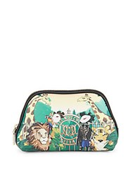 Love Moschino Bustina Printed Top Zip Pouch No Color