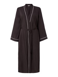 Cyberjammies Luna Long Robe Black