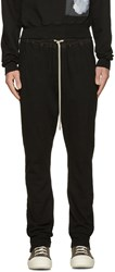 Rick Owens Drkshdw Black Berlin Lounge Pants