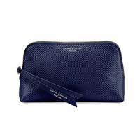 Aspinal Of London Essential Cosmetic Case Midnight Blue