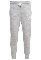 Nike Sportswear Gym Vintage Tracksuit Bottoms Grey Heather Mottled Light Grey