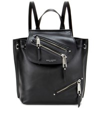 Marc Jacobs Zip Pack Leather Backpack Black