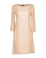 Daks London Short Dresses Sand