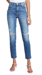 Paige Sarah Destructed Slim Jeans Briony Destructed