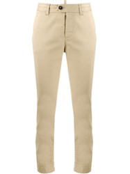 Dsquared2 Buttoned Waist Cropped Trousers 60