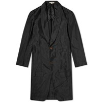 Comme Des Garcons Homme Plus Single Breasted Overcoat Black