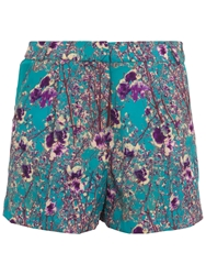 Wolf And Whistle Blossom Print Shorts Multi