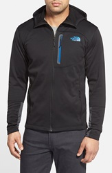 The North Face 'Canyonlands' Full Zip Hoodie Tnf Black Monster Blue
