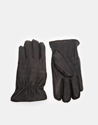 Jack And Jones Jack And Jones Rebel Leather Gloves Black