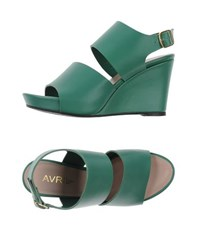 Avril Gau Footwear Sandals Women Green