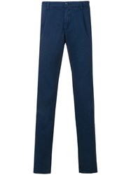 Re Hash Straight Trousers Blue