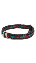 Chamula Hh Braided Bracelet Brown