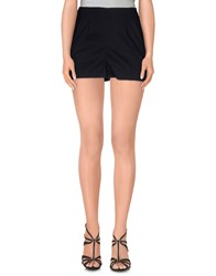 Paolo Errico Trousers Shorts Women Black
