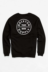 Brixton Oath Fleece Sweatshirt Black