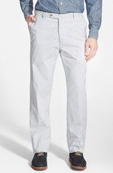 Men's Peter Millar Stripe Cotton And Linen Chinos