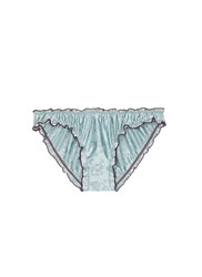 Love Stories 'Lolita' Ruched Edge Briefs Green