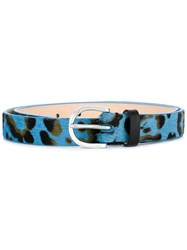 Paul Smith Ps By Printed Belt Blue