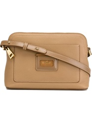 Hogan Small Zip Crossbody Bag Brown