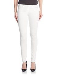 3X1 Mid Rise Skinny Jeans White