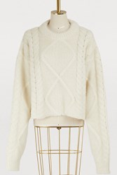 Maison Martin Margiela Alpaga Sweater Off White
