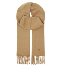 Mulberry Cashmere Scarf Camel