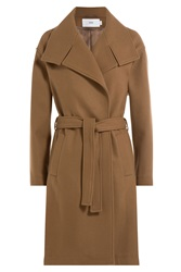 Closed Wool Blend Trench Coat Brown