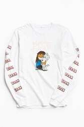 Urban Outfitters Big Baby D.R.A.M. Long Sleeve Tee White
