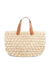 Mar Y Sol Valencia Handbag Natural