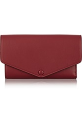 Maison Martin Margiela Leather Wallet Red